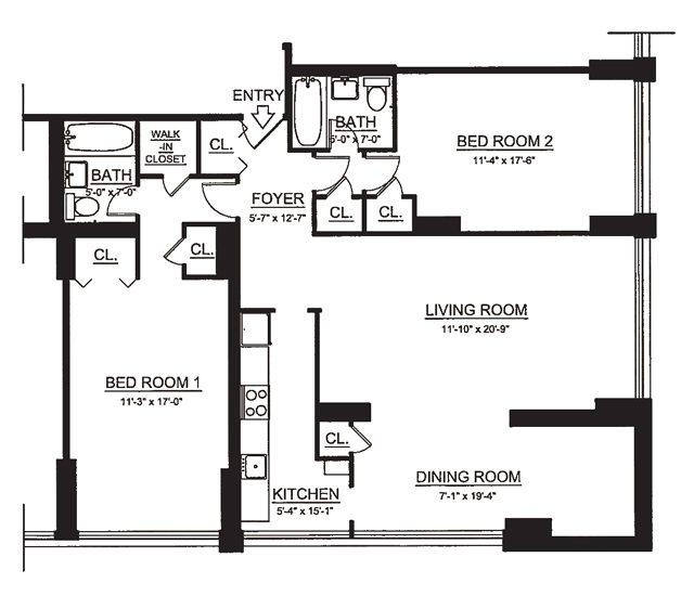 Clermont Apartments: Broadwall Management Corporation